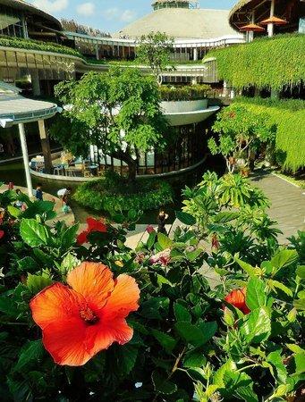Beachwalk Shopping Center: lovely landscaping