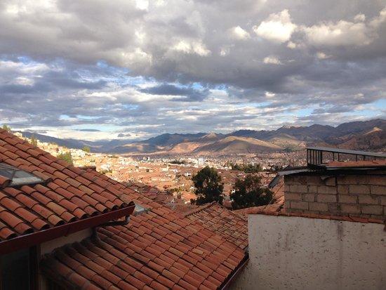 Maison Fortaleza: view to the town