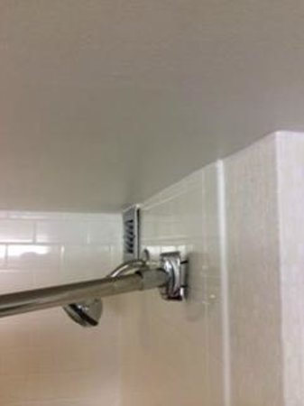 Embassy Suites by Hilton Charlotte: Shower Curtain Bracket