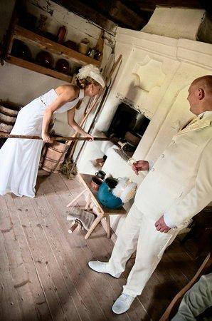 Rumsiskes Open-Air Museum: Свадьба по старым традициям