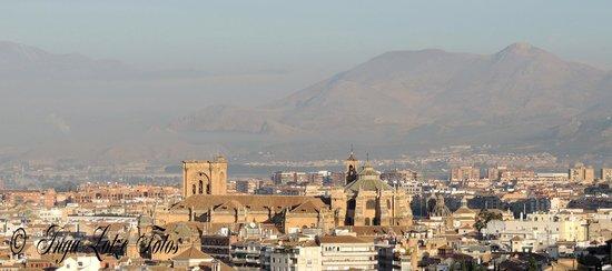 Hotel Mirador Arabeluj : La vista por la mañana desde la terraza