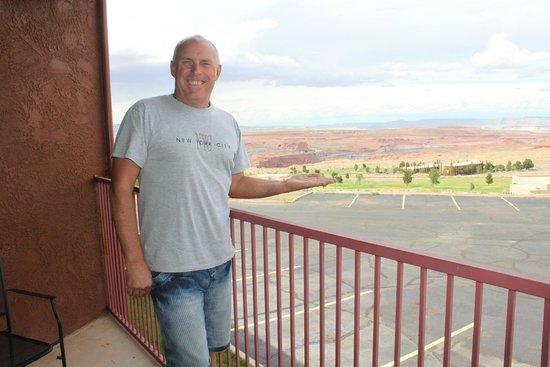 Quality Inn at Lake Powell : vue sur le lac et le barrage