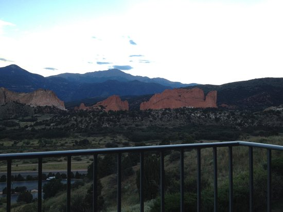 View From Our Room Picture Of Garden Of The Gods