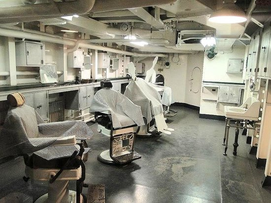 Barber Shop Durham Nc : kitchen - Picture of Battleship NORTH CAROLINA, Wilmington ...