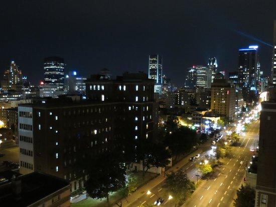 Candlewood Suites Montreal Centre-Ville: 夜景