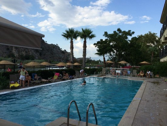 Dalyan Tezcan Hotel: Pool