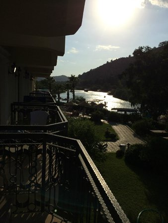 Dalyan Tezcan Hotel: View From Balcony