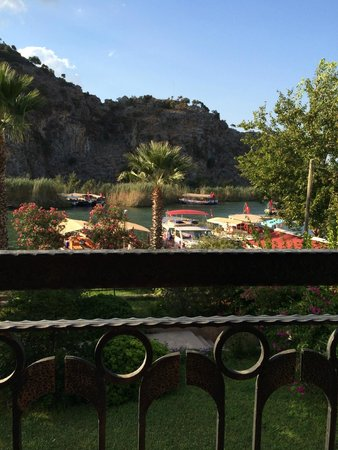 Dalyan Tezcan Hotel: River Views