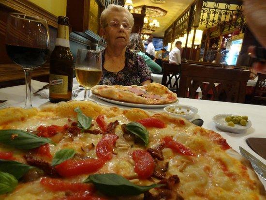 Ma que pizza!
