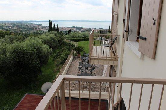 Albergo Valbella: Ausblick vom Balkon