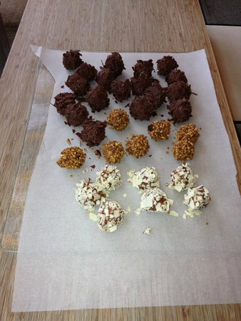 Cocoa Mountain Auchterarder: The finished result