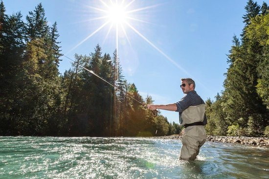 Valley Fishing Guides Day Trips: Nymphing in the morning