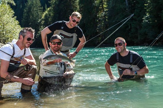 Valley Fishing Guides Day Trips: caught on the dry fly