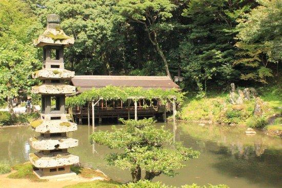 Kanazawa, Japonia: Estanque
