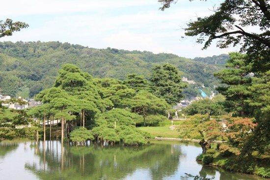 Amplitud fotograf a de jard n kenrokuen kanazawa for Jardin kenrokuen