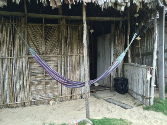 Cabanas Coco Blanco: Fachada da cabana