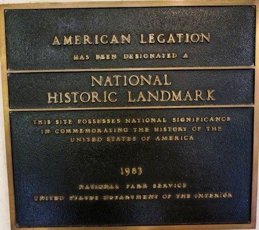 American Legation: National Historic Landmark