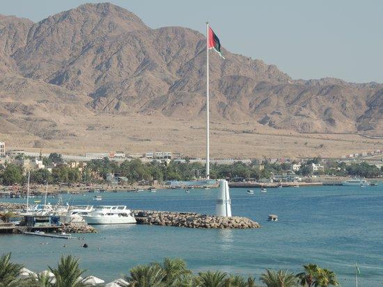 InterContinental Aqaba Resort: View from the balcony