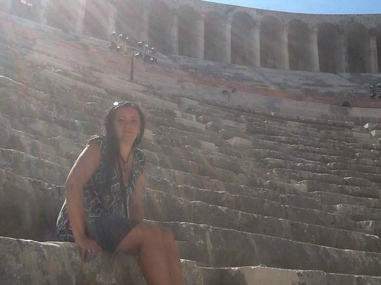 Greek Amphitheater: Aspendos, september 2014