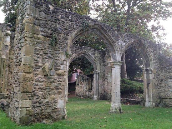 Abingdon Abbey Buildings: View