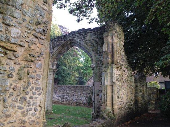 Abingdon Abbey Buildings: Relics