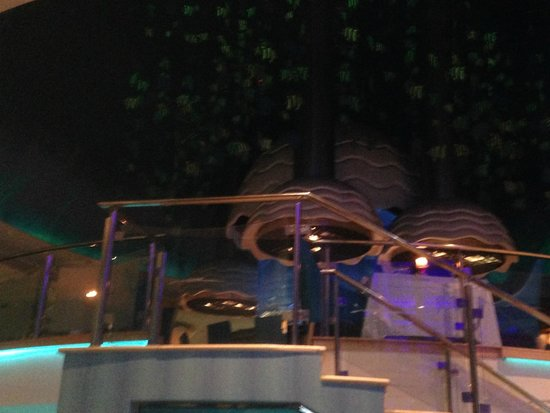 Aqua Restaurant: photograph taken inside restaurant