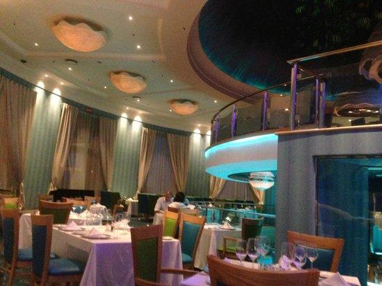 Aqua Restaurant: taken inside  restaurant