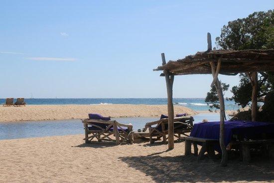 Domaine de Murtoli : plage
