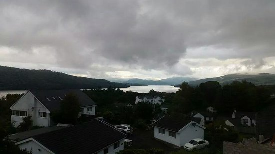Blenheim Lodge: Just one aspect of the panoramic view.