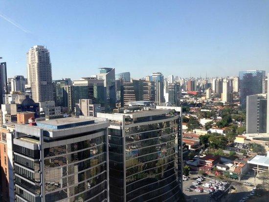 Pullman Sao Paulo Vila Olimpia Hotel: Vista do apartamento