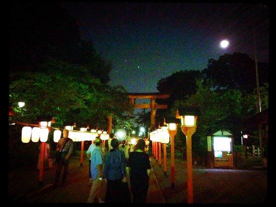 Hirano Shrine: Harvest Moon Festival - September