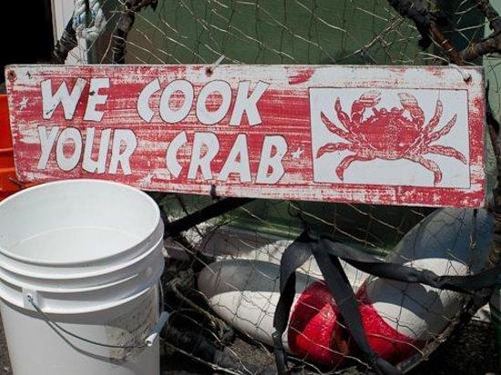 Tony's Crab Shack : Tony's!