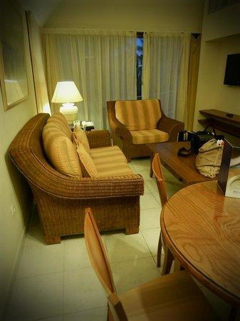 Melia Las Americas: Sitting area