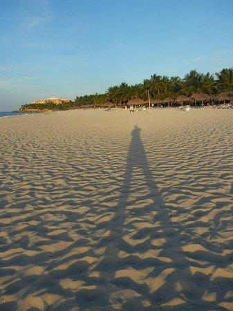 Melia Las Americas: Beach at sunset