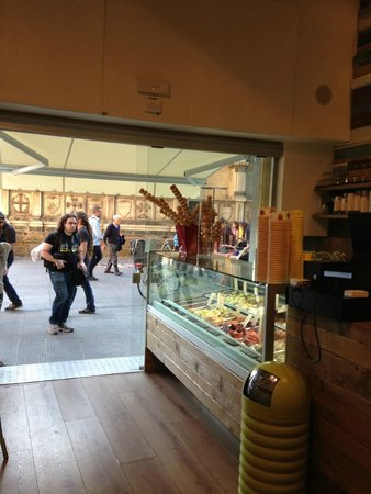 Shake Cafe: View from inside