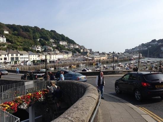 Parkdean - Looe Bay Holiday Park: view of East Looe from the river bridge