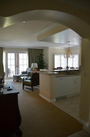 Four Seasons Residence Club Aviara, Carlsbad Ca. : One Bedroom Villa living/dining area