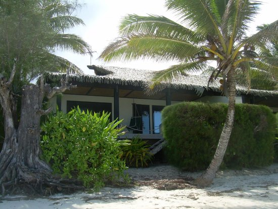 Rendezvous Villas: Villa Number 1, taken from beach