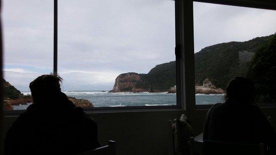 East Head Cafe : Big window, big ocean