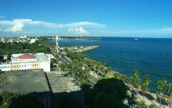 Crowne Plaza Santo Domingo: View from room in 10th floor