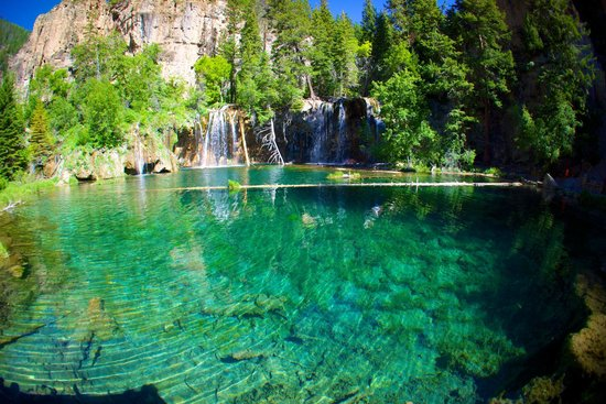 Hanging Lake: This is from the platform