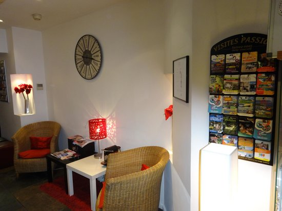 Coeur de City Hotel Bordeaux Clemenceau: Hall de entrada