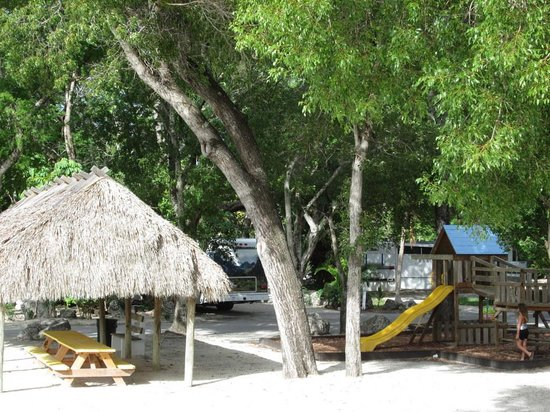 Key Largo Kampground and Marina: Play Area
