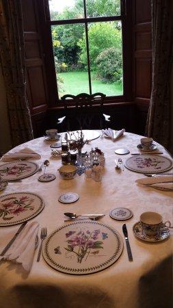 Grange Farmhouse Bed and Breakfast: La sala della colazione