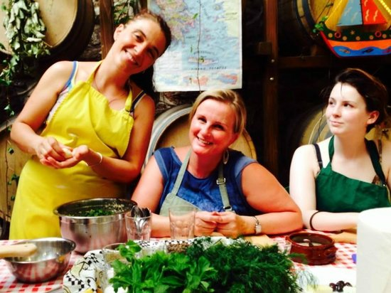 Athens Cooking Day Tours : Ilia is a perfect hostess and guide to Greek food
