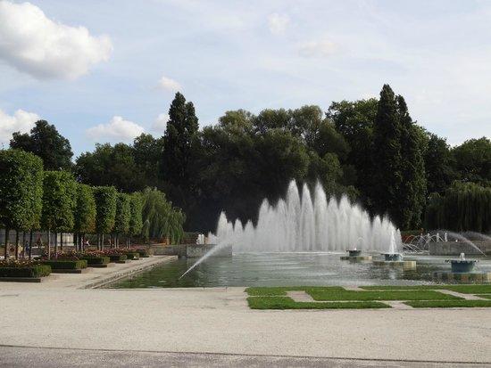 Battersea Park: Lago artificial!