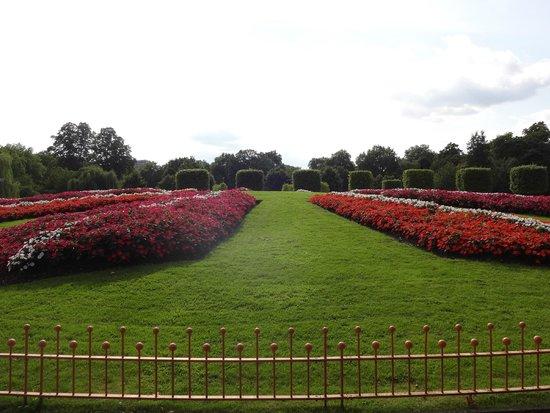 Battersea Park: Belo contraste de verde e colorido!
