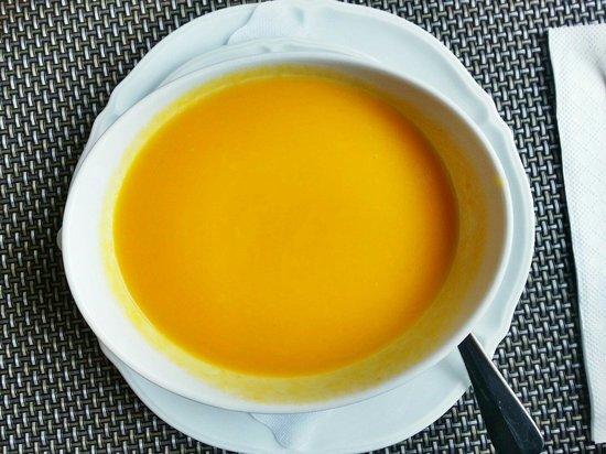 Hotel Storchen: Soupe de potiron