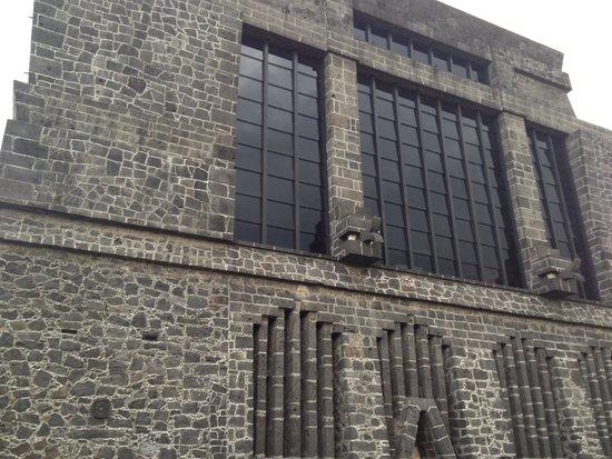 Museo Diego Rivera Anahuacalli: Fachada Frontal