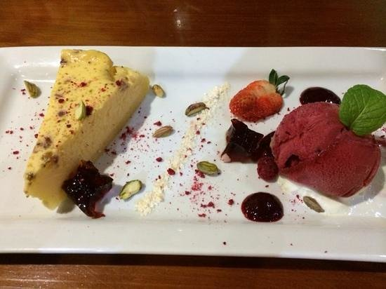 Olives Restaurant: cheesecake